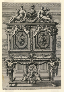 Print, Cabinet on Stand