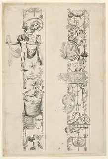 Print, Grotesque Ornament, 16th century