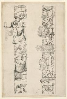 Print, Grotesque Ornament