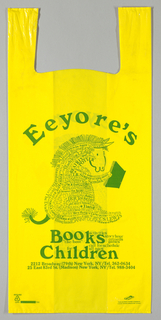Shopping Bag, Eeyore's Books