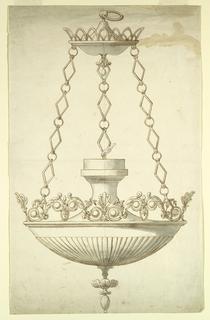 Drawing, Altar Lamp, ca. 1830