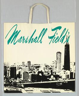 Shopping Bag, Marshall Field's: Chicago Skyline