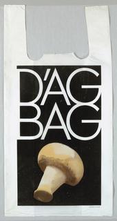 Shopping Bag, D'Ag Bag: Mushroom