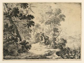 Print, The Punishment of Marsyas