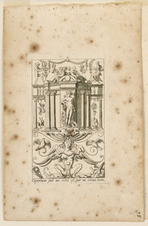 "Print, Grotesque with Deities. Plate 11 ""Apollo,"" 2nd state"