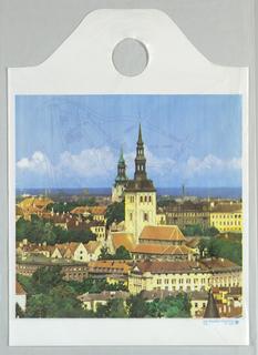 Shopping Bag, View of Ptyalin's Old Town