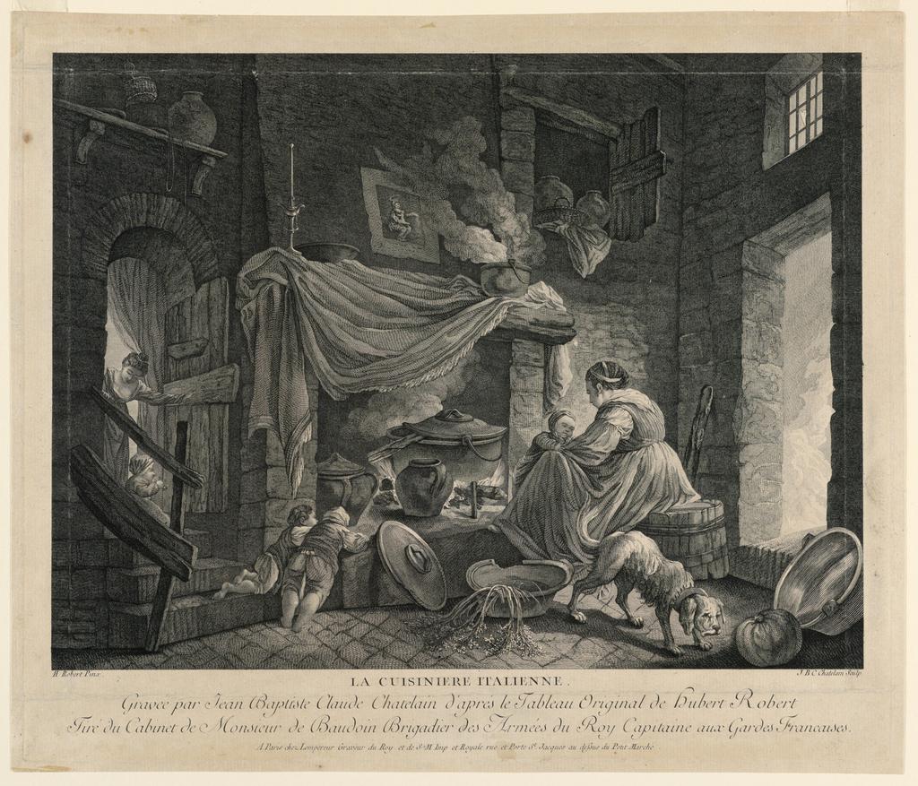 Print, The Italian Cook, ca. 1760