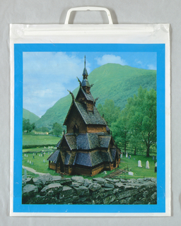 Shopping Bag, Stave Church, Norway
