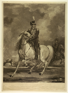 Print, The Hetman Count Platoff Mounted on his Favorite Charger, 1815