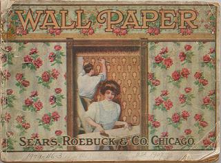 Sample Book, Wallpaper-Sears Roebuck and Co.