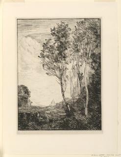 Print, Souvenir D'Italie, 1866