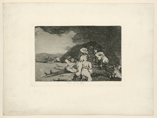 Print, The Disasters of War, Plate 6