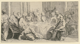 Print, Christ at the House of the Pharisee