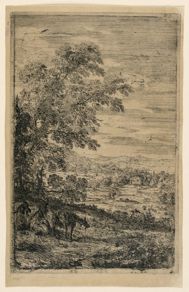 Print, The Three Goats, 1630–1633