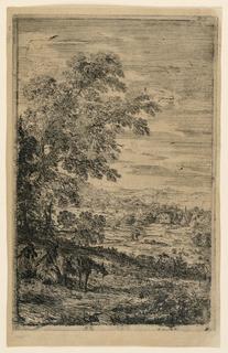 Print, The Three Goats, 1630–1633