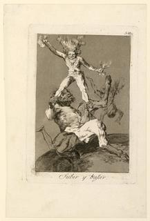 Print, Subir y Bajar (Up and Down), 1803