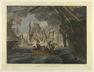Picture. Battle Of Erie Lake