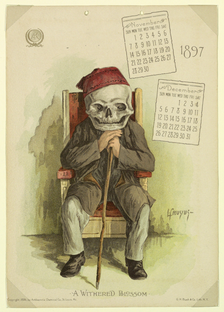 1897 Calendar 4-2: Mar/Apr 4-3: May/Jun 4-6: Nov/Dec