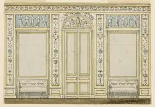 Drawing (possibly Holland), ca. 1785