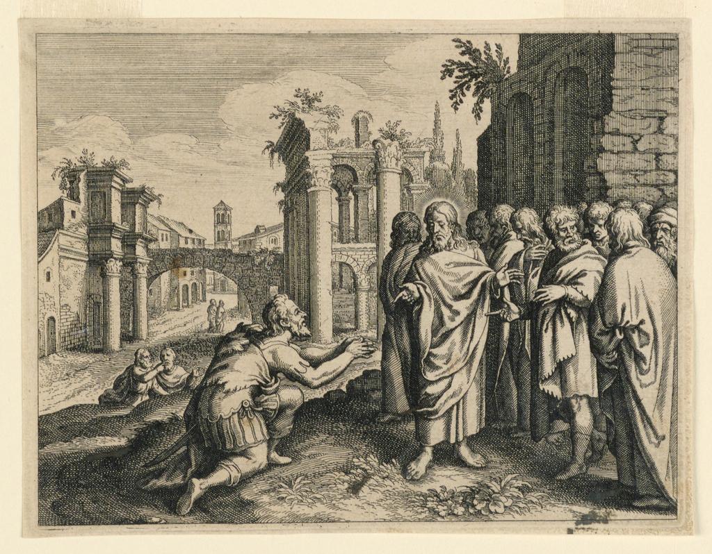 Print, Christ and the Centurion, ca. 1590–1667