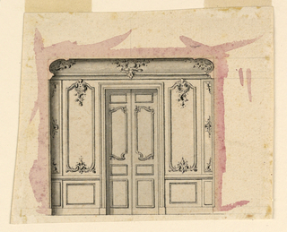 Drawing (France), ca. 1760