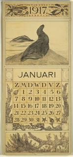 Calendar, 1917