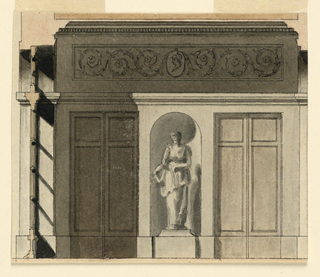 Drawing (France), ca. 1790