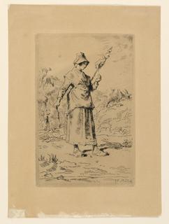 Print, La Fileuse