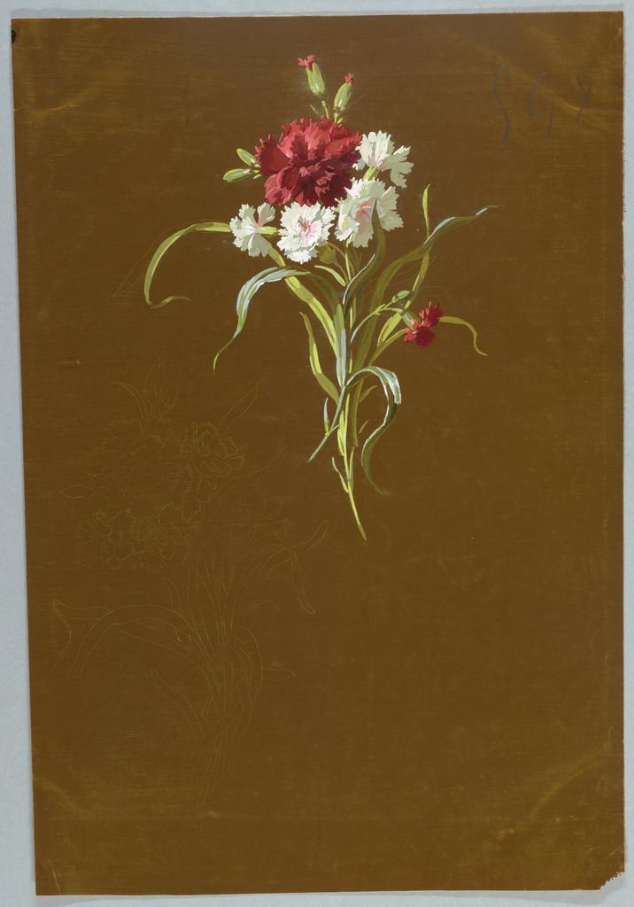 "Drawing, from ""Saint Germain - Volumes 1 & 2"", ca. 1896"