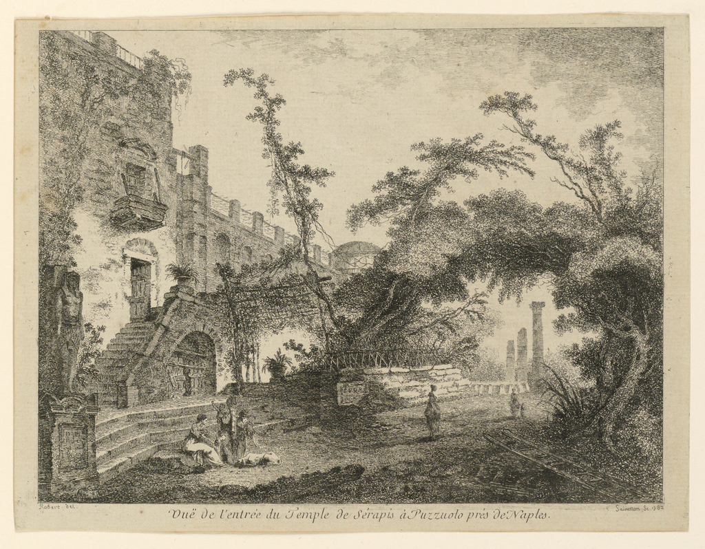 Print, The Temple of Serapis