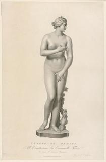 Frontal view of Medici Venus.