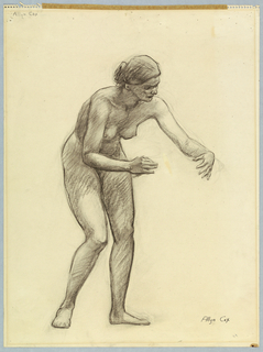 Drawing, Figure for a Mural