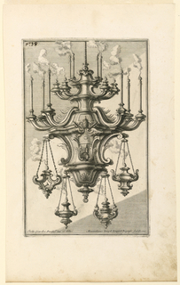 "Print, Sanctuary Lamp, from ""Dis, 1714"