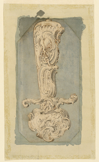 Drawing, Design for the Hilt of a Hunting Sword