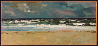 Painting, Sandy Beach with Breakers