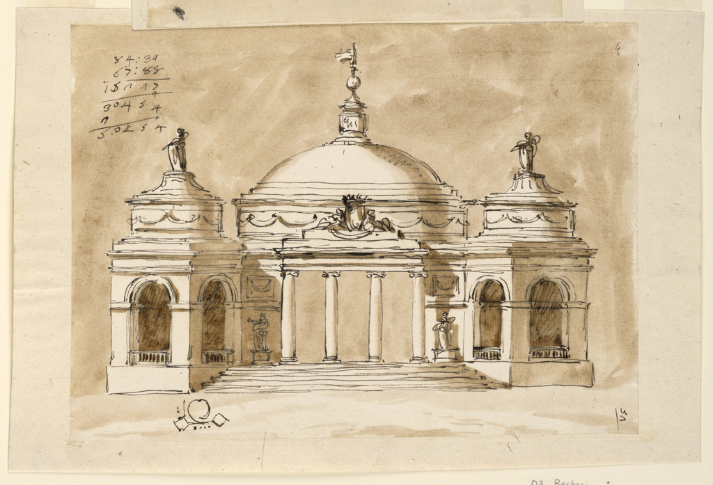 Drawing, Pavilion