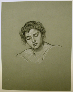Drawing, Study for woman