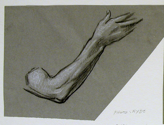 Drawing, Study of arm
