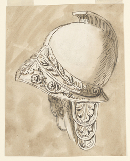 Drawing, Helmet