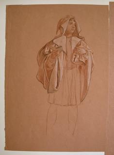 "Drawing, Study for ""Wedding Procession"""