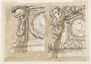 Drawing, Pedestal
