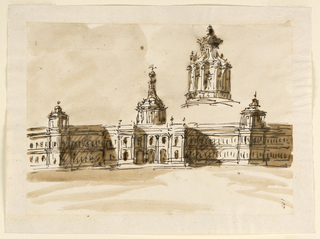 Drawing, Palace