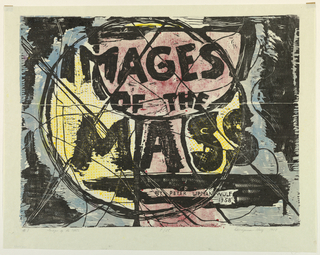 Print, Images of the Mass, 1958