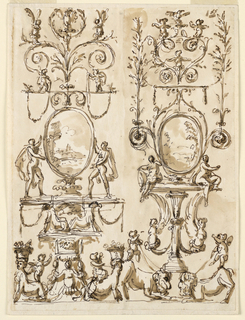 Drawing, Decoration of a panel