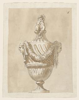 Drawing, Urn