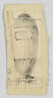Drawing, Urn