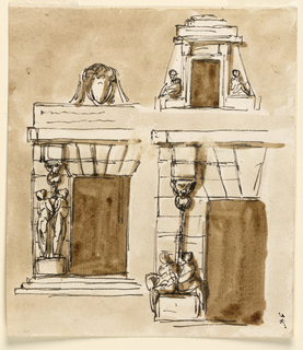 Drawing, Doors of a prison