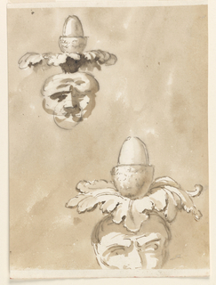 Drawing, Two knobs