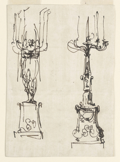 Drawing, Candlesticks