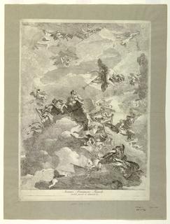 Print, The Triumph of  Hercules